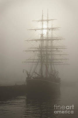 Ghost Ship Art Print by Inge Riis McDonald