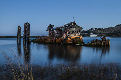 Art Print featuring the photograph Ghost Ship by Randy Wood