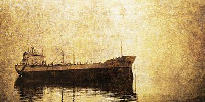 Ghost Ship Art Print by Skip Nall