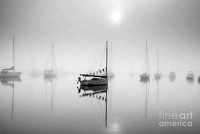 Photograph - Ghost Ships by Butch Lombardi