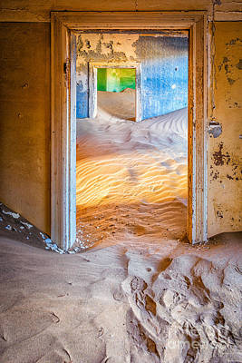 Mess Photograph - Ghost Town 210 by Katka Pruskova