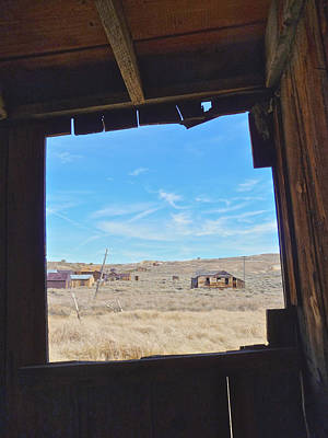 Photograph - Ghost Town Bodie by Steven Lapkin