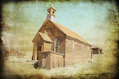 Photograph - Ghost Town Church by Steve McKinzie