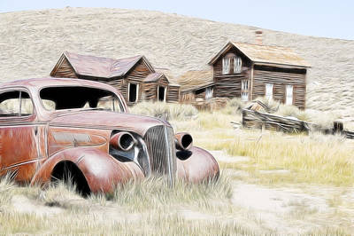 Photograph - Ghost Town Cruiser by Steve McKinzie