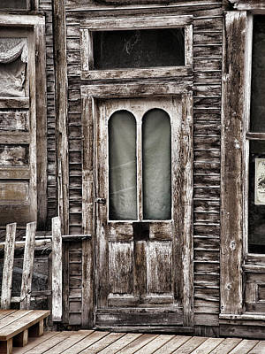 Photograph - Ghost Town Door by Ken Smith