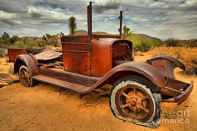 Mining Truck Photograph - Ghost Town Express by Adam Jewell