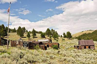 Photograph - Ghost Town In Summer by Sue Smith