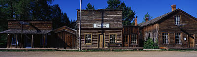 Old West .america Photograph - Ghost Town Nevada City Mt by Panoramic Images