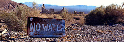 Photograph - Ghost Town - No Water by Maria Arango Diener