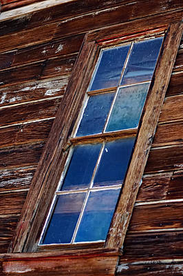 Ghost Town Panes Art Print by See My  Photos