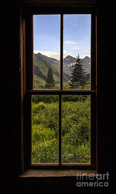 Photograph - Ghost Town View by Dennis Hedberg