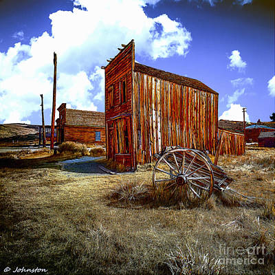 Ghost Towns In The Southwest Print by Bob and Nadine Johnston