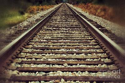 Photograph - Ghost Tracks by AK Photography