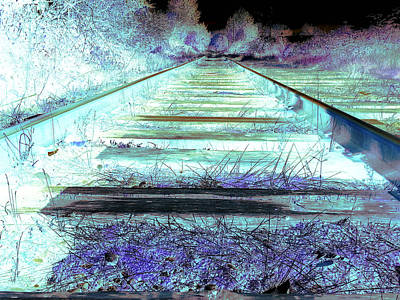 Painting - Ghost Tracks by Shane Dufoe