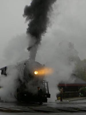 Photograph - Ghost Train by Carolyn Jacob