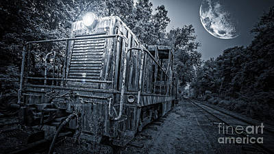 Photograph - Ghost Train by Edward Fielding