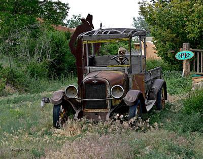 Photograph - Ghost Truck by Allen Sheffield