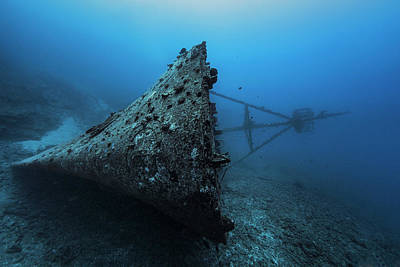 Shipwreck Wall Art - Photograph - Ghost Wreck by Barathieu Gabriel