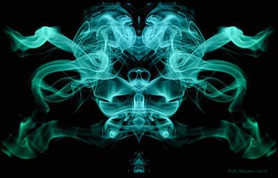 Digital Art - Ghostface by WB Johnston