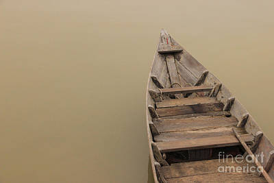 Photograph - Ghostly Boat by David Warrington