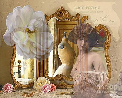 Maureen Digital Art - Ghostly Boudoir by Maureen Tillman