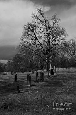 Photograph - Ghostly Graveyard by Deanna Proffitt