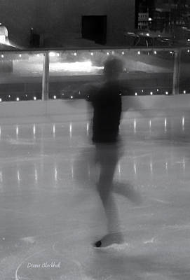Photograph - Ghostly Skater by Donna Blackhall
