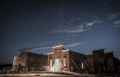 Photograph - Ghosts At Bodie by Cat Connor