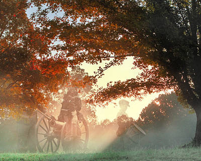 Digital Art - Ghosts At Fort Donelson by Mary Almond