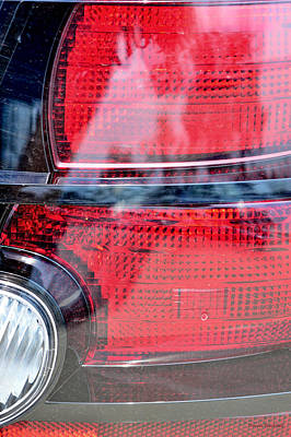 Photograph - Ghosts In My Taillights by Donna Blackhall