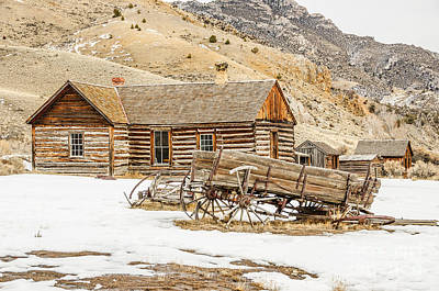 Bannack State Park Photograph - Ghosts In The Window? by Sue Smith