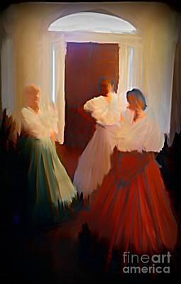Jsm Fine Arts Halifax Digital Art - Ghosts Of A Louisianna Plantation by John Malone