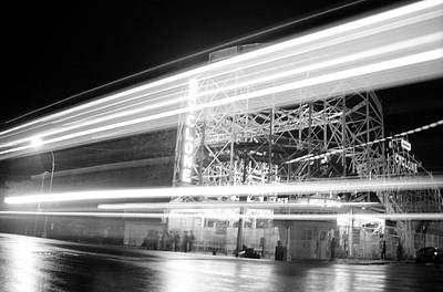 Nathans Famous Frankfurters Photograph - Ghosts Of Coney Island by Lou Russo