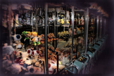 Turn-of-the-century Mixed Media - Ghosts Of The Arcades - The Toys Come Out At Night To Play by Doc Braham