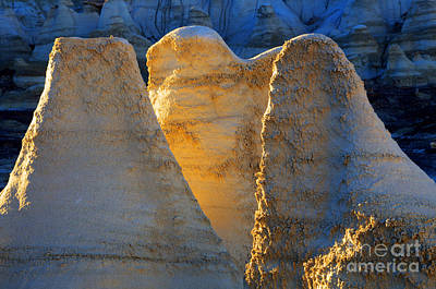 Photograph - Ghosts Of The Bisti/de-na-zin Wilderness by Bob Christopher