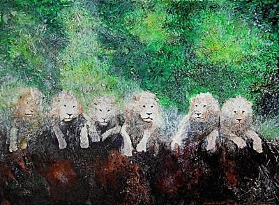 Painting - Ghosts Of The Endangered by Maris Sherwood