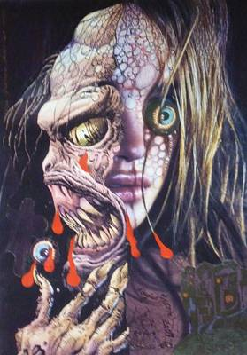 Ghoulshead Art Print