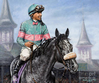 Giacomo At Churchill Art Print by Thomas Allen Pauly