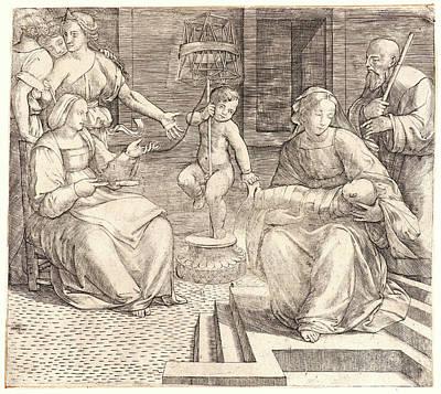 Giacomo Francia Aka Jacopo Francia Italian Art Print by Litz Collection