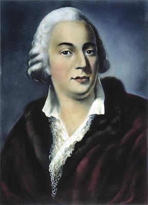 Longhi Painting - Giacomo Girolamo Casanova (1725-1798) by Granger