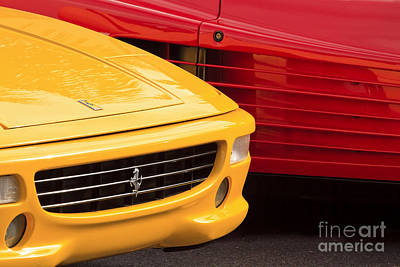 Photograph - Giallo E Rosso by Dennis Hedberg