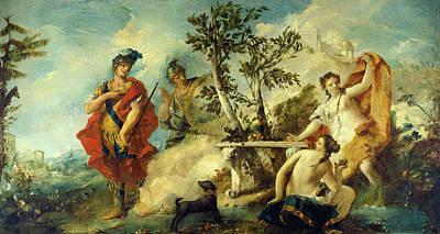 Francesco Guardi Painting - Gian Antonio Guardi And Francesco Guardi by Quint Lox