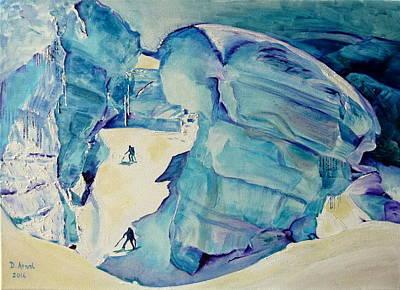 Chamonix Painting - Giant by Danielle Arnal