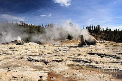 Photograph - Giant Geyser Group by Adam Jewell