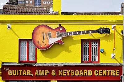 Giant Gibson Les Paul Art Print