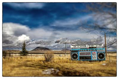 Photograph - Giant Idaho Radio Tilt Shift by For Ninety One Days