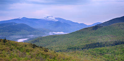 Giant Mountain From Owls Head Art Print