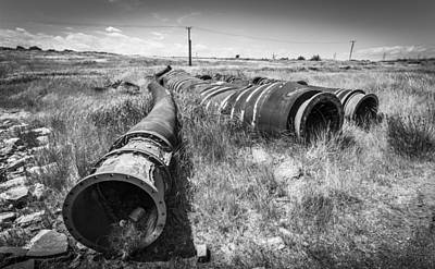 Photograph - Giant Pipes by Gary Gillette