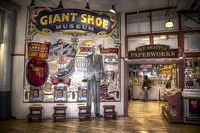 Photograph - Giant Shoe Museum by Spencer McDonald