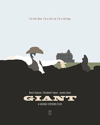 Elizabeth Taylor Digital Art - Giant by Smile In The  Mind